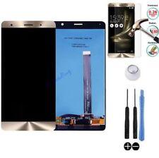 ECRAN LCD + VITRE TACTILE BLOC COMPLET ASSEMBLE ASUS ZENFONE 3 DELUXE ZS550KL OR