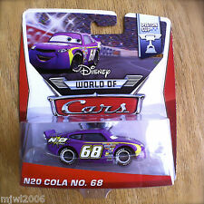 Disney World of Cars N2O COLA NO. 68 2014 PISTON CUP diecast 2/16 N20 Pixar