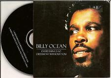 BILLY OCEAN - everything's so different without you CD SINGLE 2TR EU CARDSLEEVE