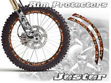 19 & 21 Inch Dirt Bike Rim Protectors Wheel Decals Tape Graphics Motorcycle