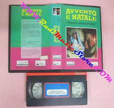 VHS film AVVENTO E NATALE Attesa e venuta di Gesu' 1993 CIPIELLE (F145) no dvd