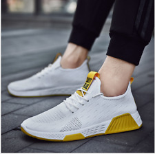 New Men's casual breathable sports Flyknit running shoes Athletic Shoes