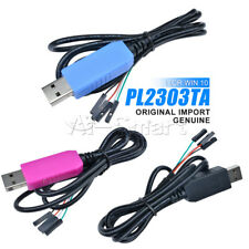 Línea de descarga original de PL2303TA/CP2102/CH340G WIN10 USB a TTL RS232 compatible