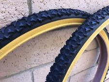"New 26"" Black Gumwall BMX CRUISER Bicycle Mountain Bike Tires & Tubes 26X1.75"
