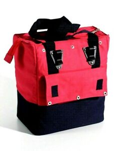 Nantucket Bicycle Basket Co. Panniers & Rack Trunks Portland Rear Bag Red Black