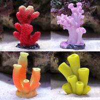 Artificial Resin Coral Aquarium Background Fish Tank Decor Underwater Ornaments