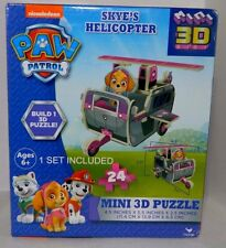 Nickelodeon Paw Patrol Skye's Helicopter Mini 3D Puzzle NEW 24 Pc