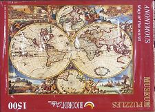 Ricordi MAP OF THE WORLD 1500 pc Jigsaw Puzzle