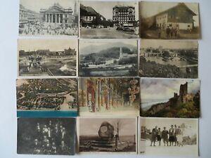 60 alte  Ansichtskarten (89)