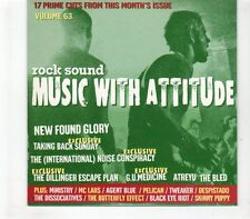 (GR549) Rock Sound Music With Attitude Volume 63, 17 tracks - 2004 CD
