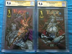 Tarot Witch of the Black Rose #2 set - Broadsword - CGC SS 9.6 -Signed by Balent