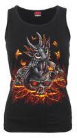 Spiral Direct STRANDED Back Vest Top/Darkwear/Goth/Vampire/Baby Dragon/Gift/Top