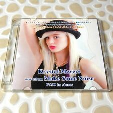 Krystal Meyers - Make Some Noise BMG JAPAN Official Promo CD+1 Bonus 11Trk #0704