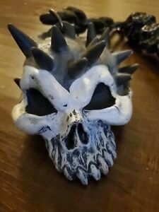Costume Skeleton Spiked Flail Mace Chain Halloween prop Medieval 1995 rubies wow
