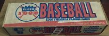 1990 Fleer Baseball Cards Complete Factory Sealed Set 672 Cards + 45 Stickers
