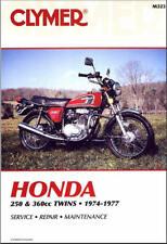 74-77 Honda CB250 CJ250 CB360 CB CJ CL 250 360 CLYMER MANUAL M323