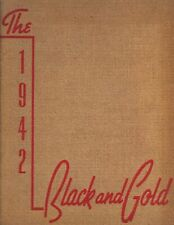 "1942 ""Black & Gold"" - R.J. Reynolds High School Yearbook - Winston-Salem, NC *"