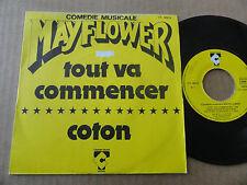"""DISQUE 45T DE LA COMEDIE MUSICALE  """" MAYFLOWER """""""