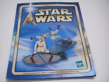 "2002 Hasbro Star Wars 3 3/4"" Action Figure Checklist Advertising Material"