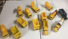 MAISTO Construction Collection THREE! 13 cars! DUMP TRUCKS&CEMENT-MIXERS