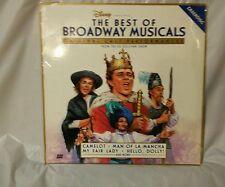 Best of Broadway Musicals From the Ed Sullivan Show Rare LaserDisc