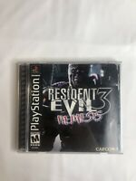 Resident Evil 3 Nemesis PS1 Box and Manual only, NO Game