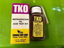 Virginia KMP TKO Acid Test Kit Qty. 1