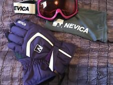 Ladies Nevica Ski Goggles And Gloves