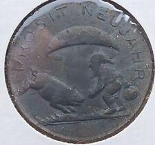 1948 Austria Happy new year & Good Luck token, Zinc Uncirculated