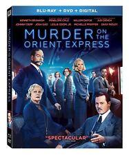 Murder On The Orient Express ( Blu-ray + DVD + Digital 02-27-2018 ) NEW