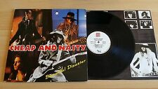 CHEAP AND NASTY-BEAUTIFUL DISASTER-LP 33 GIRI+LYRICS INNER SLEEVE-ITALY PRESS