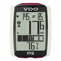 VDO M5 Digital Wireless Cycling Computer – Optional Heart Rate & Cadence