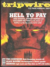 Tripwire 2007 Annual Comics Magazine Hellboy Alan Moore Mike Mignola Tim Sale