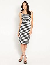 Dotti Striped Regular Size Dresses for Women