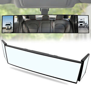 Car Truck Interior Mirror Vision Wide Angle Rear View Rearview Blind Spot Pickup