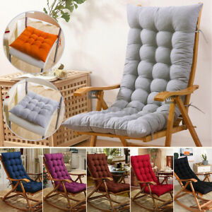 Soft Lounge Chair Cushion Tufted Deck Chaise Pad Bench Recliner Seat Pad Thick
