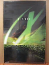 "Vintage 1998 The X-Files original ""Fight"" poster 7299"