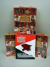 Disney High School Musical East High Yearbook & 4 East High Year Book Playsets