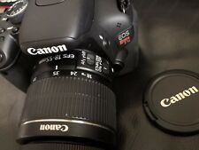 Canon EOS Rebel T3i 600D Camera - Black (Kit w/ 18-55mm lens)