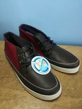 Vans California Chukka Boots | UK 5 | Brown / Red | Limited Edition BNWT