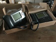 X2 Joblot Cisco CP-7961G Phones Boxed Never Used VoIP