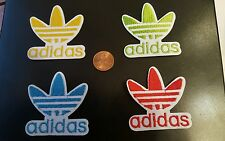 """4 - ADIDAS PATCH LOT  Logo PATCH embroidered iron on Patches patch 2.1"""" x 2.1"""