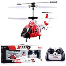 Mini RC Elettrico Elicottero Radiocomandato Drone UFO 3.5 Canali Gyro Gioco LED