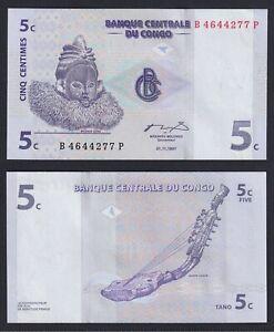Congo 5 centimes 1997 FDS/UNC  C-09