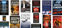 Joseph Finder Top ebook 15+ books Novel Collection  ebooks epub mobi