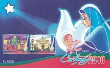 Sri Lanka 2010 Christmas M/Sheet MNH