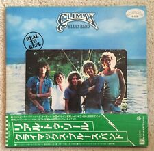 CLIMAX BLUES BAND - REAL TO REEL - JAPAN RARE VINYL WLP PROMO LP NM JAPANESE OBI