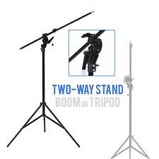 Lusana Studio 10' Boom Stand Overhead Lighting for Photography Photo Video