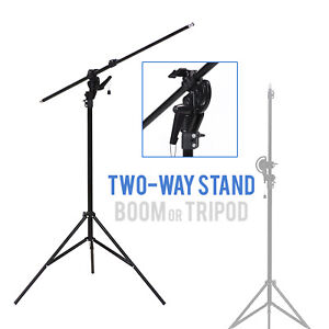 10' Boom Stand Overhead Lighting for Professional Photography Photo Video Studio