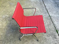 Used - Chair Armchair Chair Chaise Vitra Network Red - IN Very Good Condition